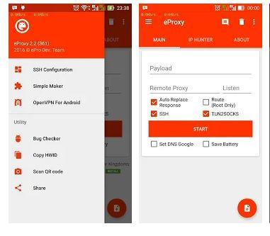 eProxy MTN 1GB Free Browsing Cheat