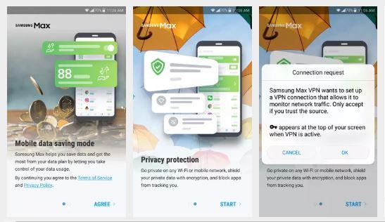 Samsung Max VPN