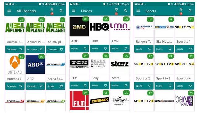 TV Tap App
