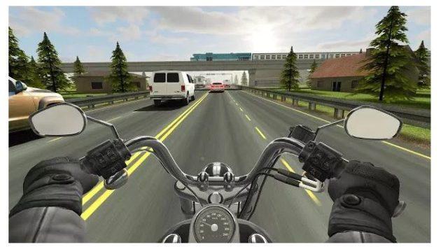 Traffic Rider MotorBike Game