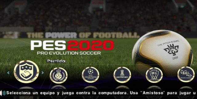Download PES 2020 Iso File PPSSPP For Android