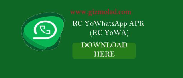RC YoWhatsApp (RC YoWA)