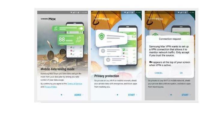 Samsung Max VPN MTN MPulse Free Browsing