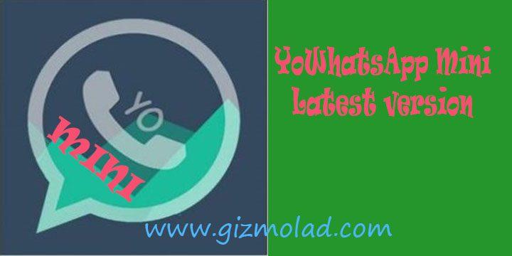 Image shows to download YoWhatsApp Mini